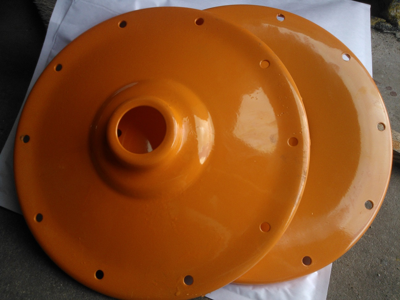 Sada talířů k míchačce Ma-tech 140L - 200L